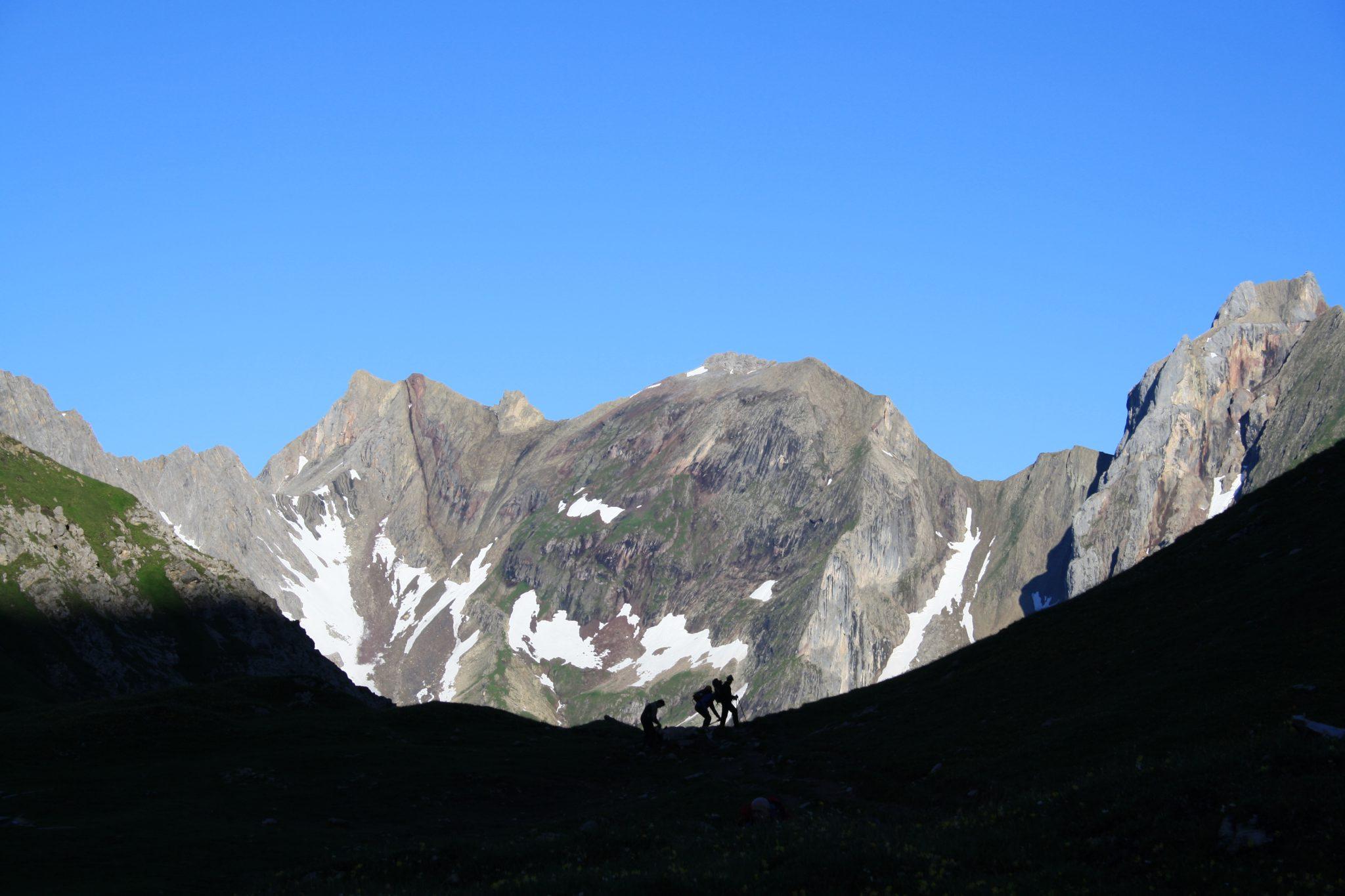 Alpen, Alpenüberquerung, E5, Memminger Hütte, Wandern, Bergwandern, Trekking