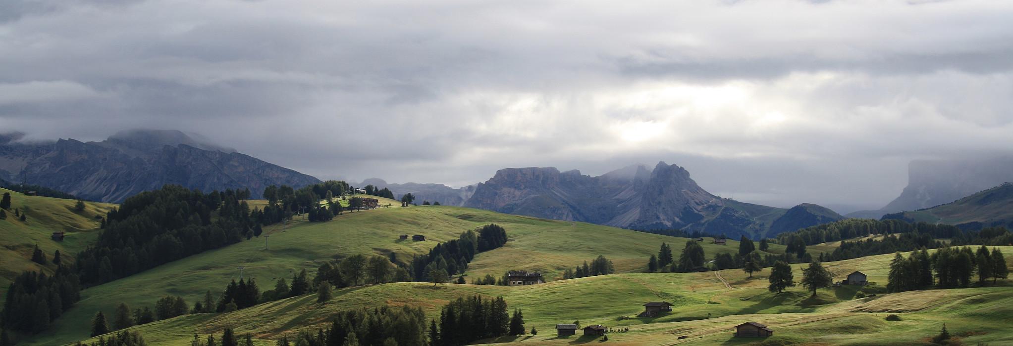 Seiser Alm, Südtirol, Alpen, Dolomiten