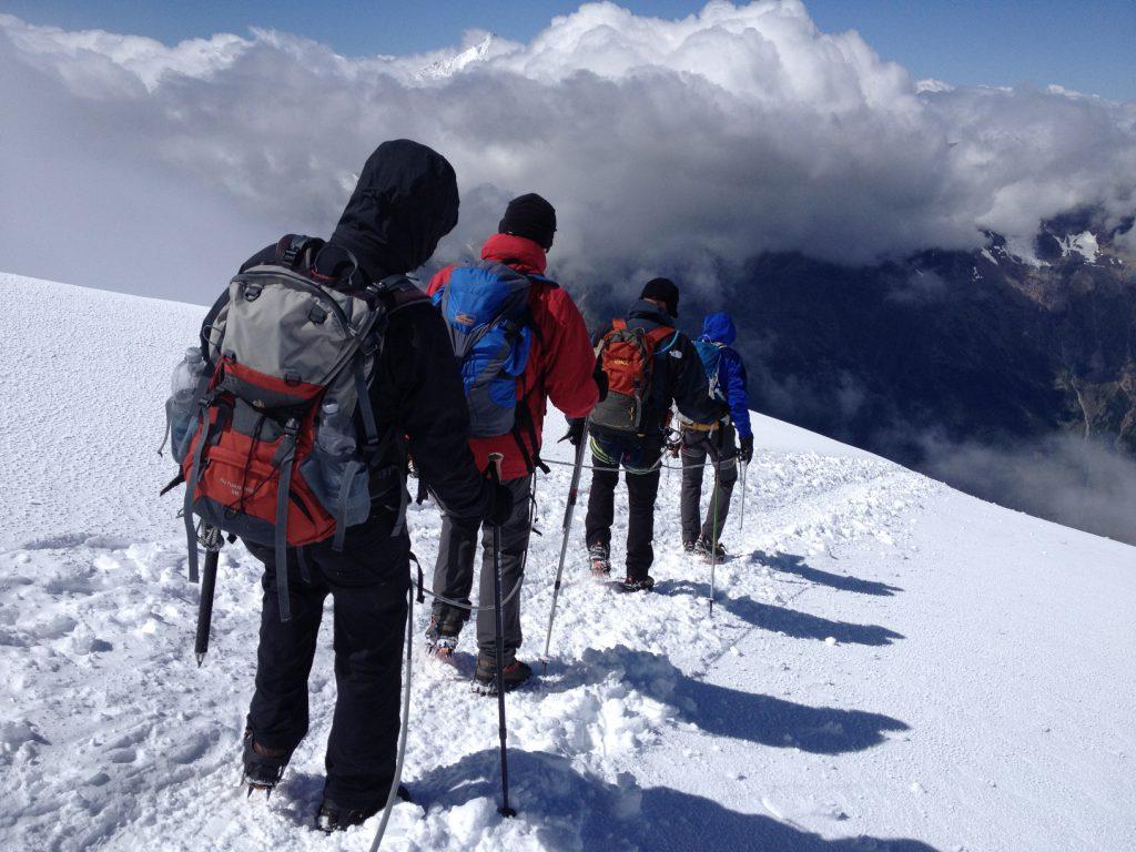 Hochtour, Weissmies, Wallis, Schweiz, Gipfel, Gipfeltour