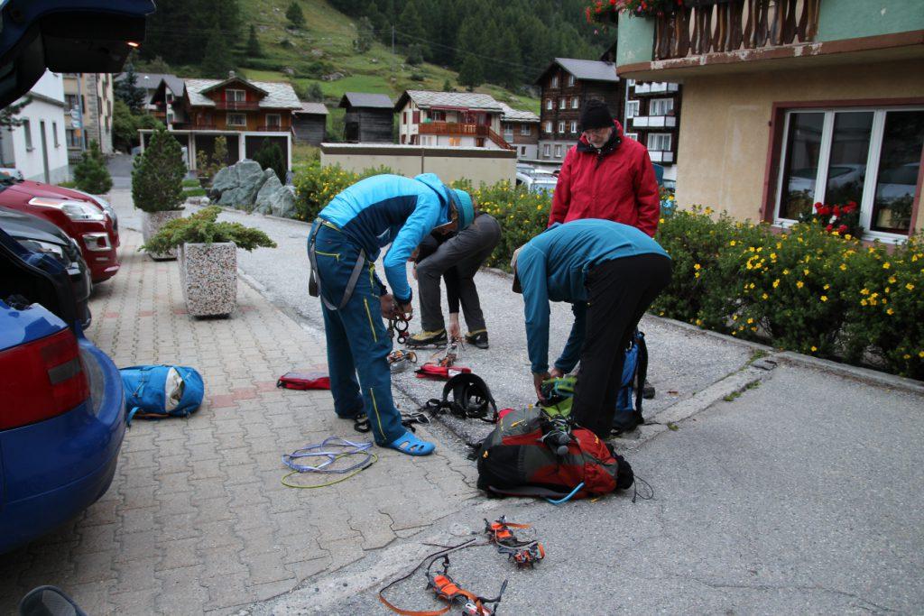 Hochtour, Weissmies, Wallis, Schweiz, Gipfeltour