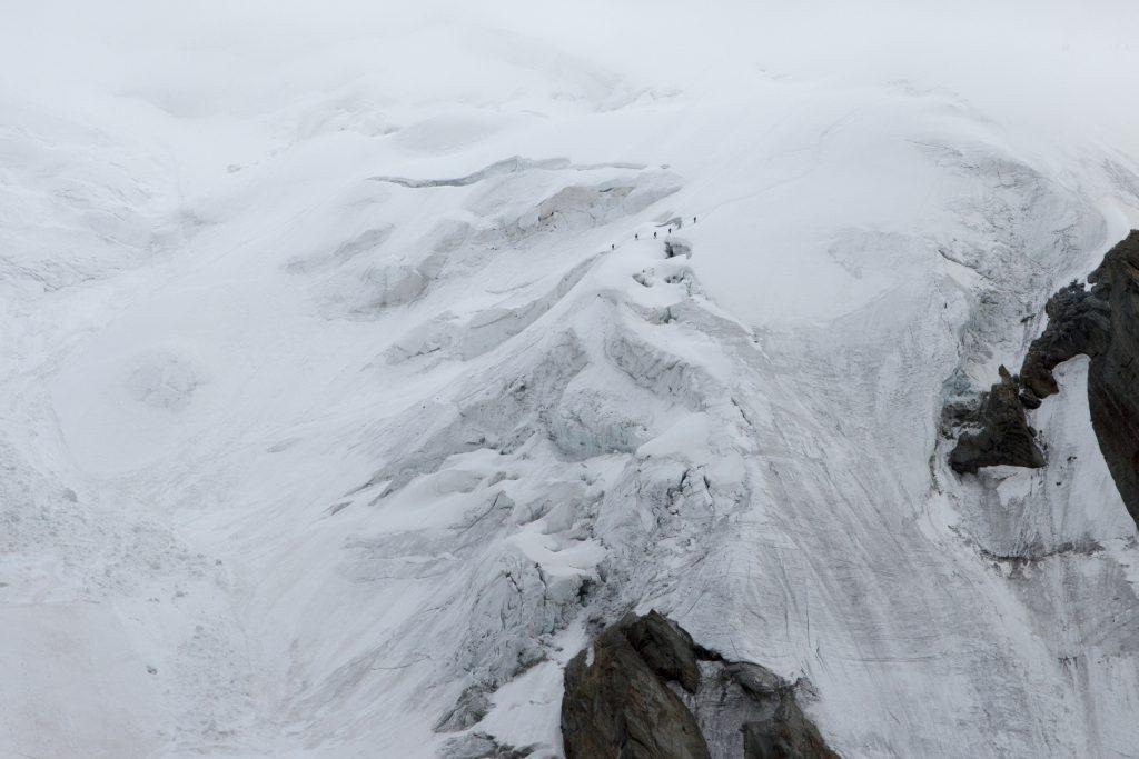 Hochtour, Weissmies, Wallis, Schweiz, Gipfel