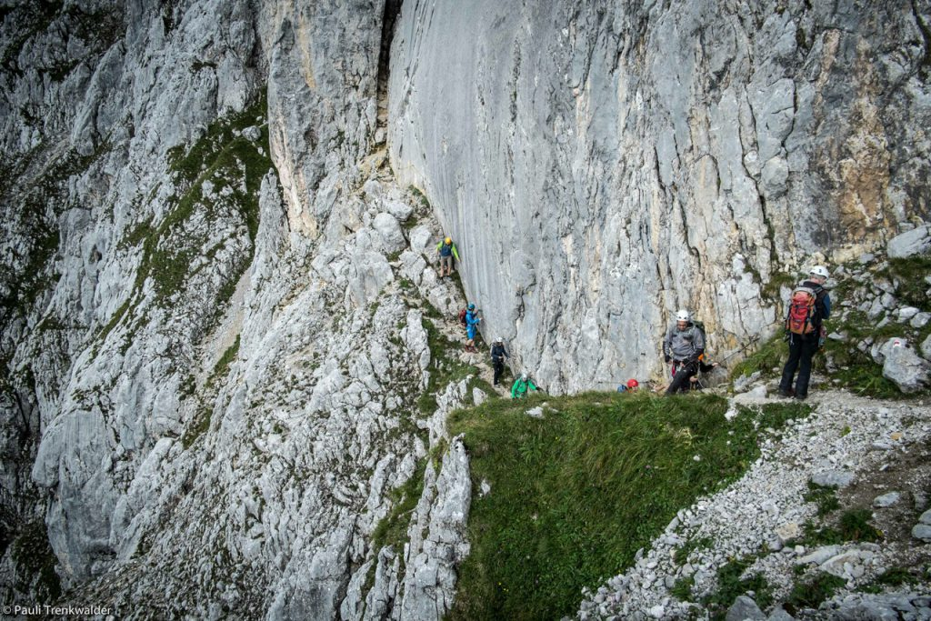 Wandern, Bergwandern, Wilder Kaiser, Österreich