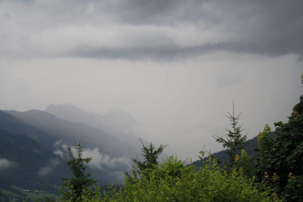 Gewitter, Gebirge, Berge, Blitz, Donner, Alpen, Gewitterwolken