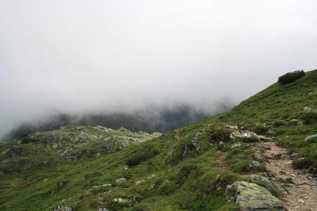 Alleine wandern, wandern, Bergwandern, Österreich, Steiermark, Schladminger Tauern, Gewitter, Hüttentour, Trekking
