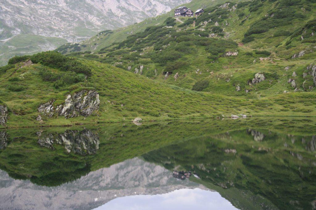 Österreich, Steiermark, Schladminger Tauern, alleine wandern, Wandern, Wanderung