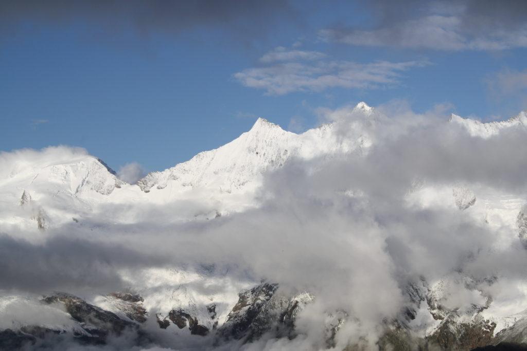 Hochtour, Wallis, Weissmies, Schweiz, Gipfel