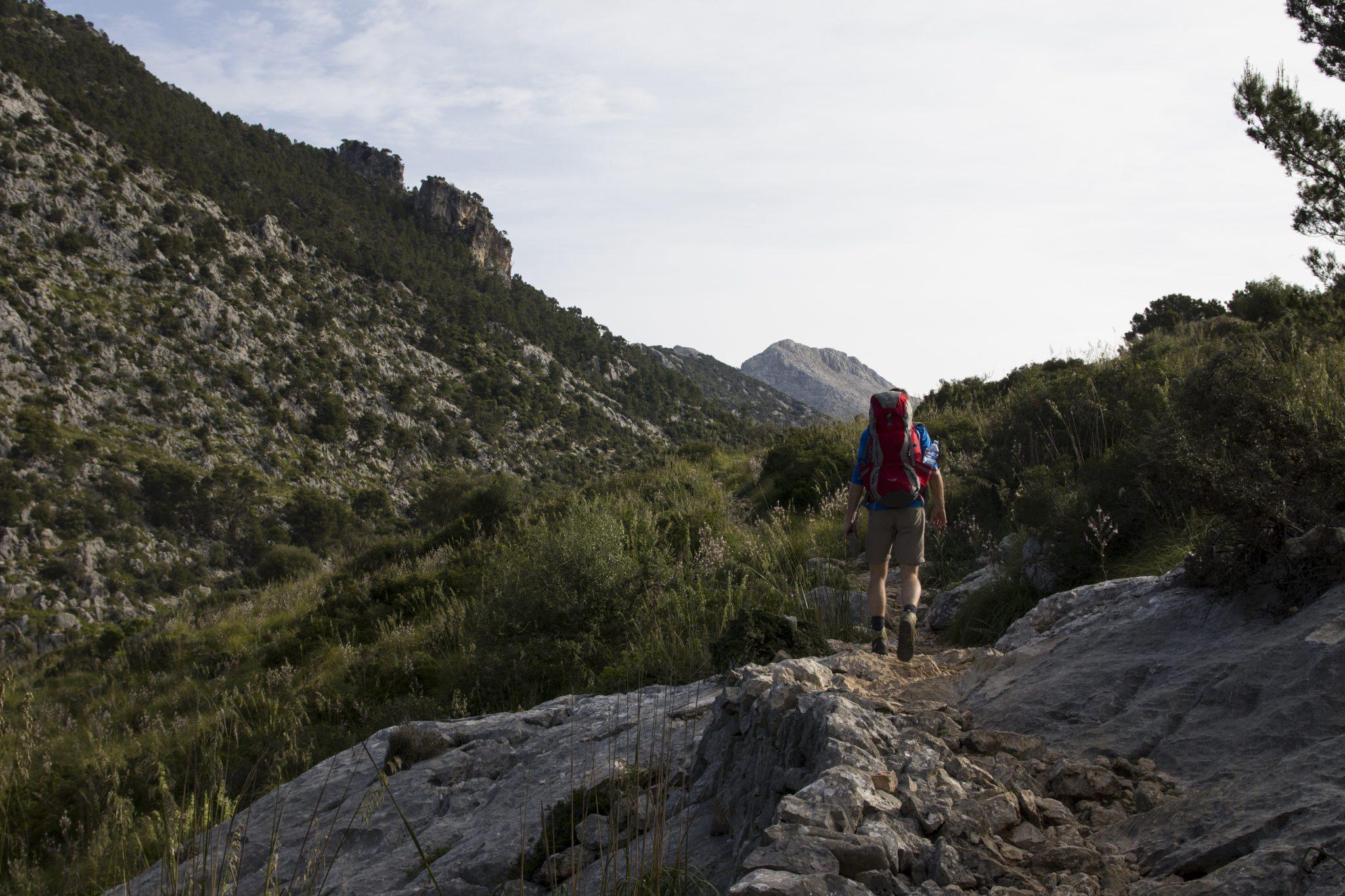 Mallorca, Tramuntana, GR221, Wandern, Wanderung, Trekking