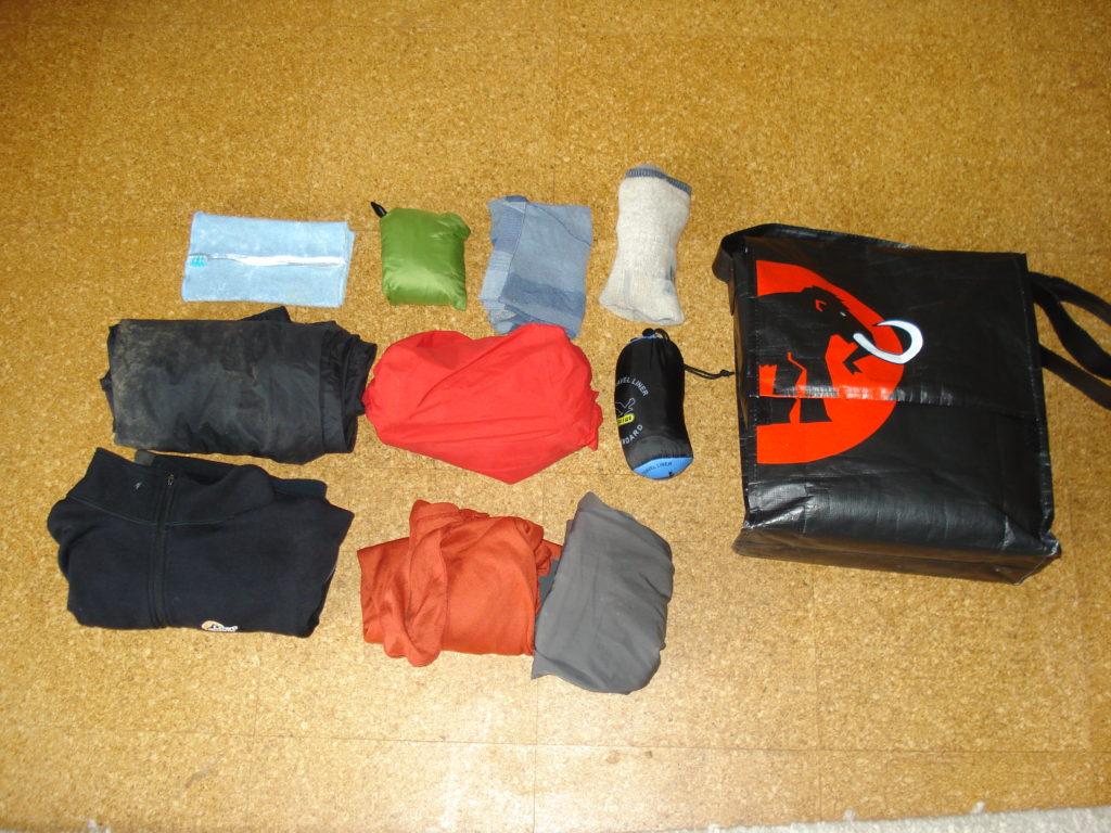 Trekking, Gepäck, Leicht, Gewicht, Rucksack