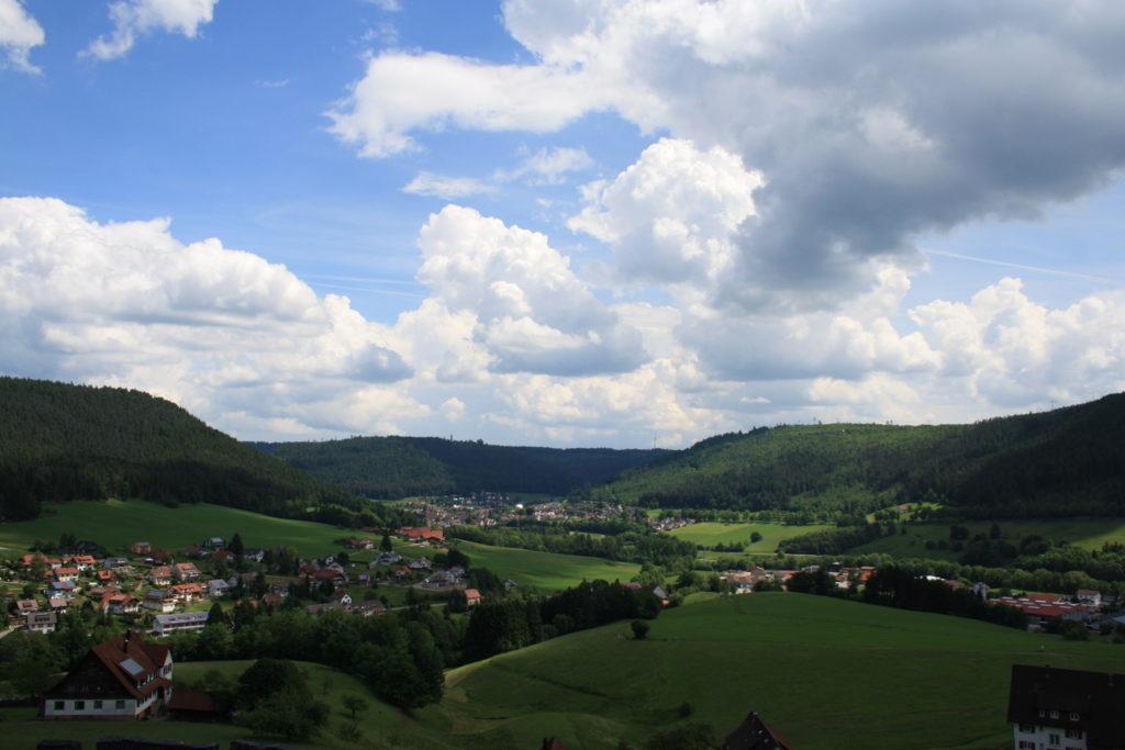 Schwarzwald, Baiersbronn, Satteleisteig, Wandern