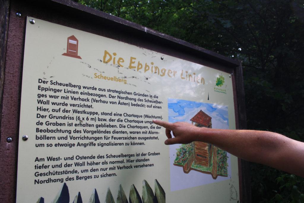 Eppinger Linien und Wandermarathon