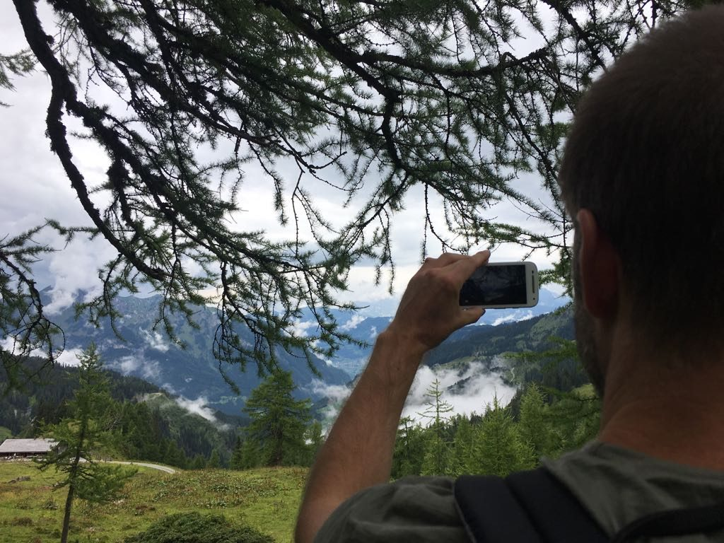 Österreich, Salzburger Land, Grossarltal, Almenweg, Wandern, Wanderung