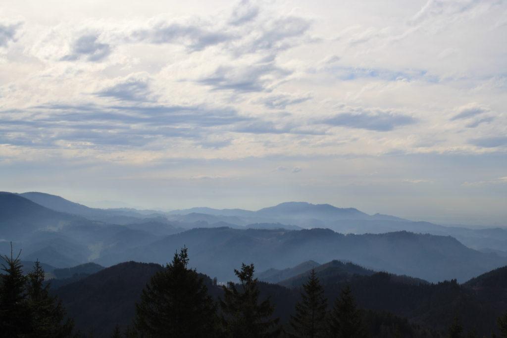 Baiersbronn, Schliffkopf, Winter, Wandern, Schwarzwald