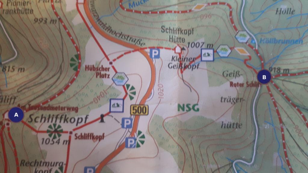 Wandern, Achtsamkeit, Ziele, Schwarzwald