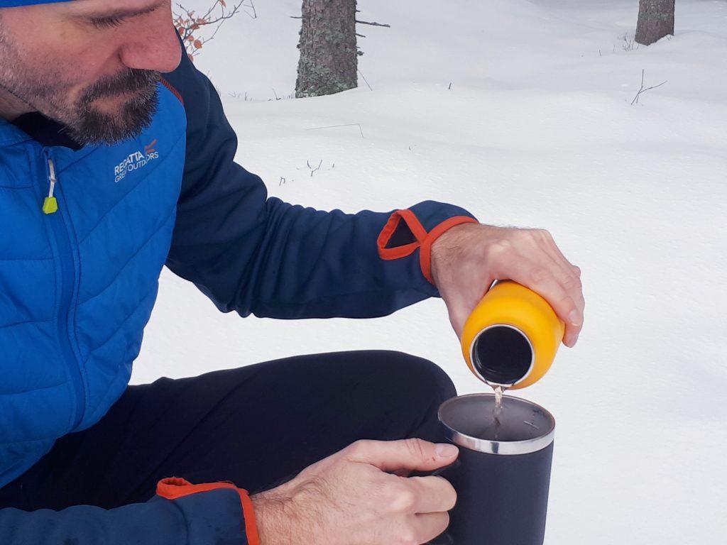 Kaffeebecher, outdoor, Thermobecher, Camping, Wandern, Hydro Flask, Edelstahl, Nachhaltig, Test