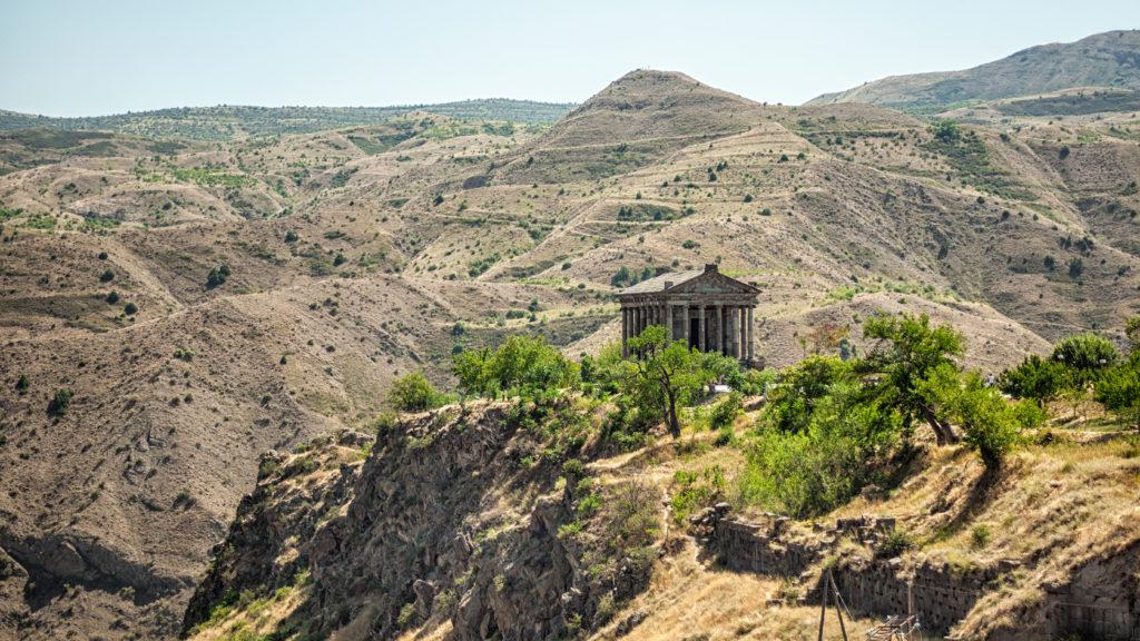 Armenien, Wandern, Garni, Tempel, Landschaft