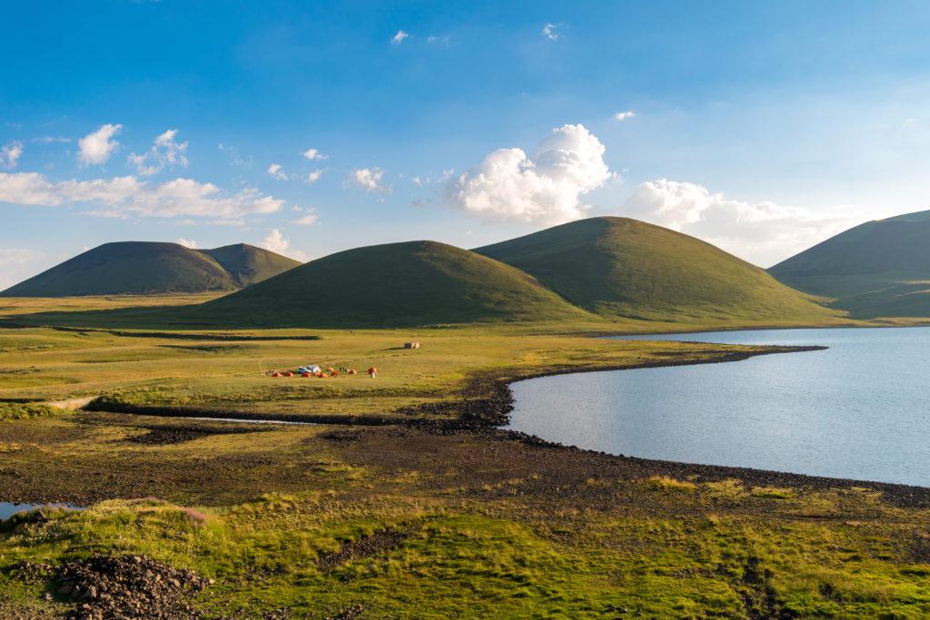 Wandern, Armenien, Berge, Landschaft, Kraterseen