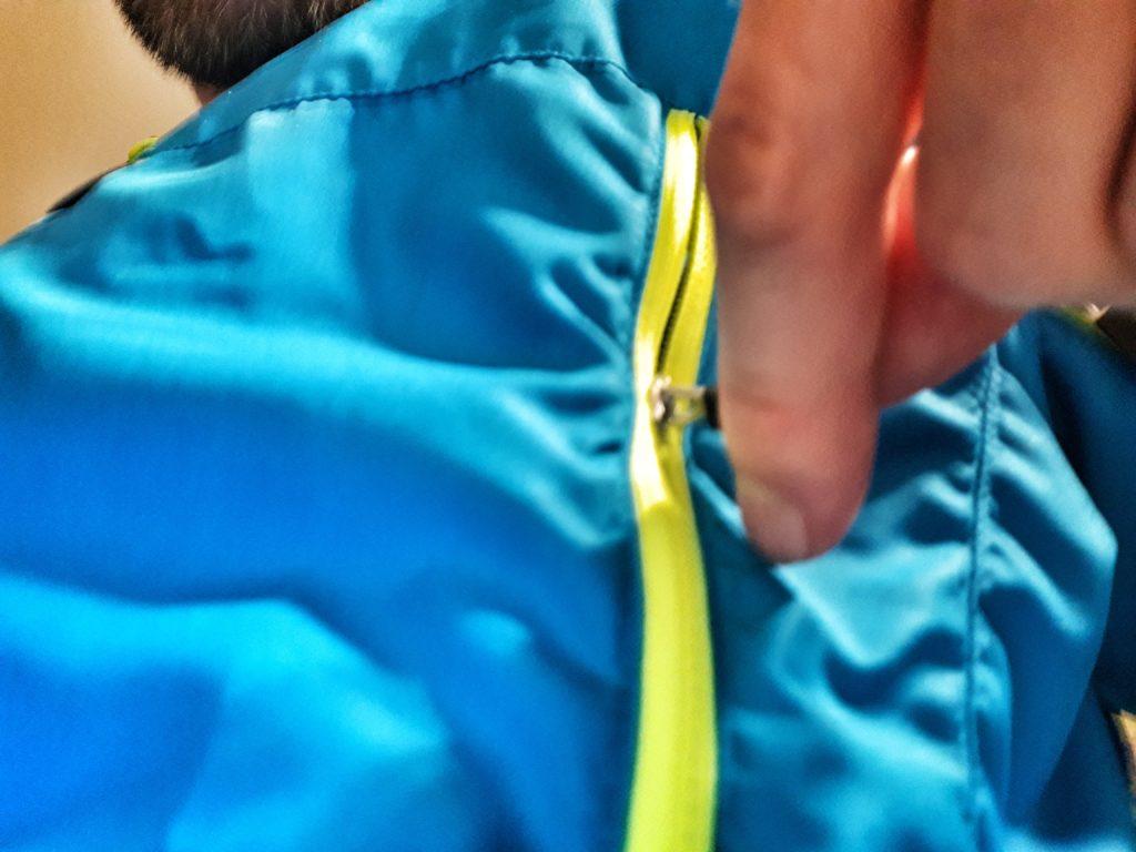 Páramo Velez Jacket Test Belüftungsschlitze